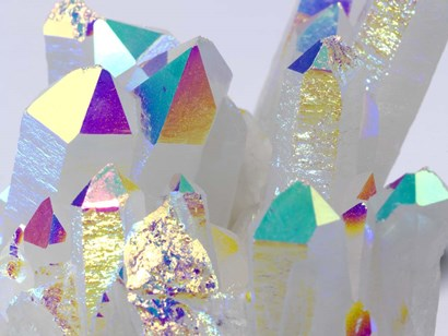 Rainbow Quartz I by Nature's Little Gems art print
