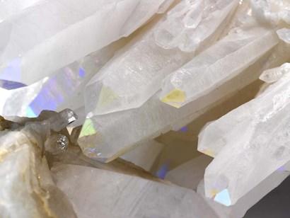 Rainbow Quartz II by Nature's Little Gems art print