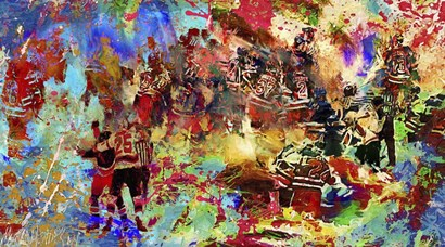 Brawl 1 by Murray Henderson Fine Art art print