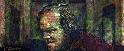 Heres Johnny by Murray Henderson Fine Art art print