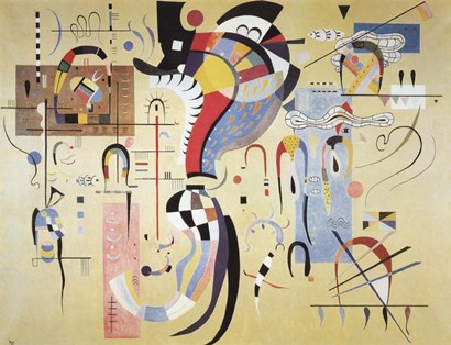 Milieu Accompagne by Wassily Kandinsky art print
