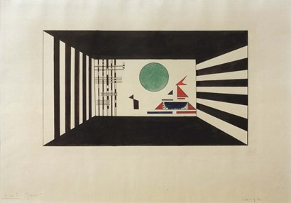 Pictures at an Exhibition Picture II Gnomus, 1930 by Wassily Kandinsky art print