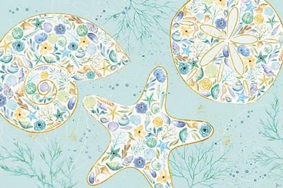 Seaside Blossoms V by Jess Aiken art print