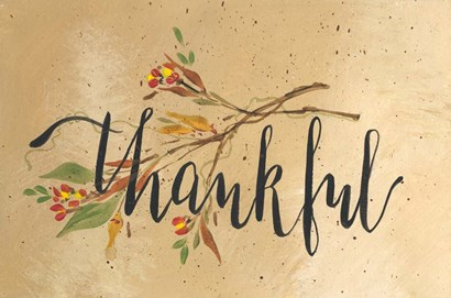 Thankful by Molly Susan Strong art print