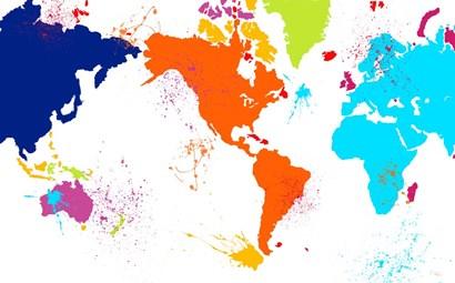 Color Map by Ramona Murdock art print