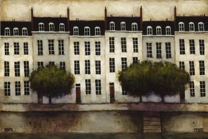 Paris on the Seine by Daniel Kessler art print