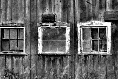 The Old Barn Window by Denise Romita art print
