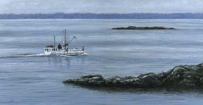 Mainland Bound by John Morrow art print