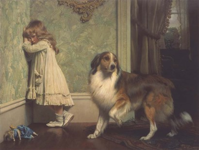 Special Pleader by Charles Burton Barber art print