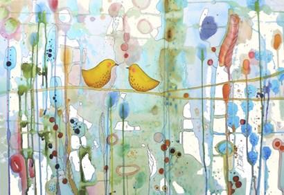 Dans Chaque Coeur by Sylvie Demers art print
