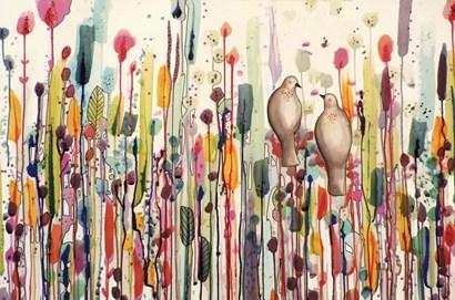 L'un Pour L'autre by Sylvie Demers art print