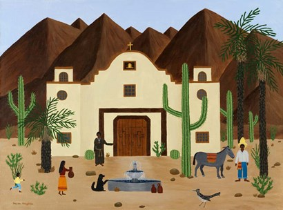 The Mission by Susan C Houghton art print