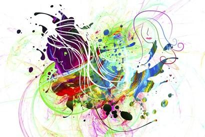 Explosion 2 by Ata Alishahi art print