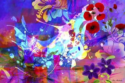 Color Explosion 8 by Ata Alishahi art print