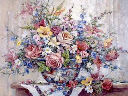 Garden Glory by Barbara Mock art print