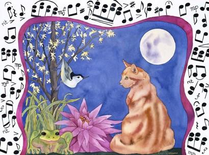 Serenade by Carissa Luminess art print