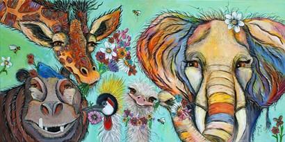 Spread the Love by Karrie Evenson art print