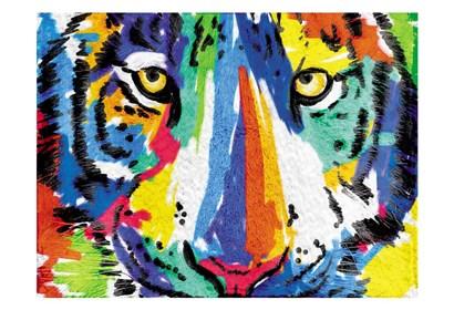 Tiger Eyes by Milli Villa art print