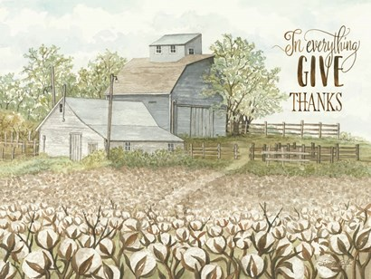 In Everything Give Thanks by Cindy Jacobs art print