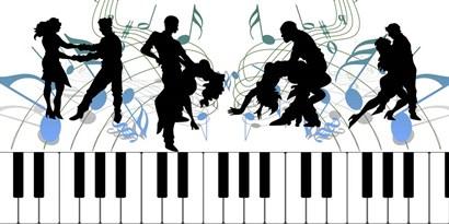 Keyboard Dance by Ata Alishahi art print