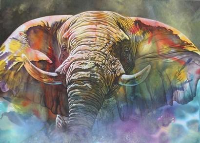Back Off Large by Graeme Stevenson art print