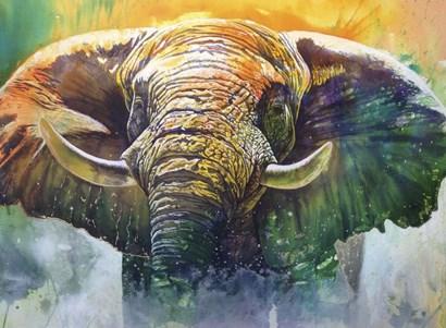 Ivory Mists by Graeme Stevenson art print