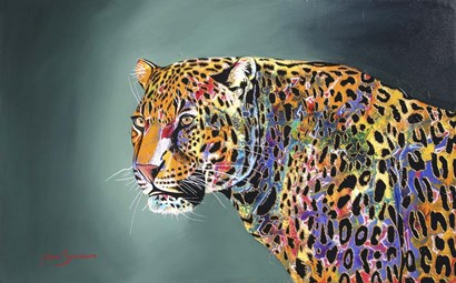Morning Of The Jaguar by Graeme Stevenson art print