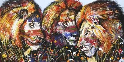 Okavango Brothers by Graeme Stevenson art print
