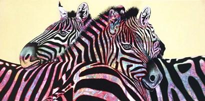 Stripe Me Lucky by Graeme Stevenson art print