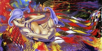 Universal Struggle by Graeme Stevenson art print