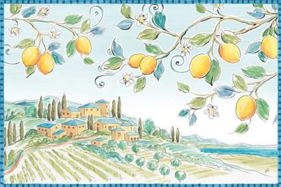 Mediterranean Breeze I by Daphne Brissonnet art print