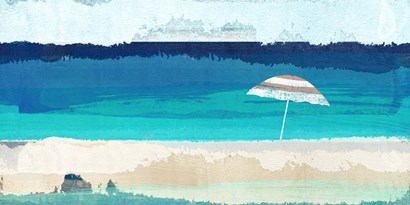 Tropical Breeze by Alex Blanco art print