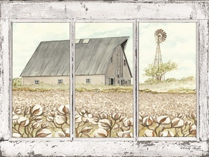 Farmland View by Cindy Jacobs art print