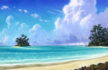 Island Shelter by Rick Novak art print
