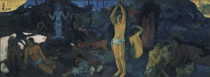 Where Do We Come From, Where Are We, Where Are We Going? by Paul Gauguin art print