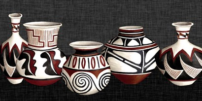 Mexican Pottery by Studio W art print