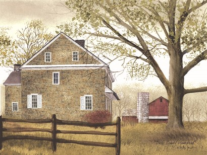Bucks County Homestead by Billy Jacobs art print