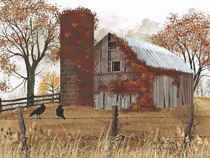 The Old Barn by Billy Jacobs art print