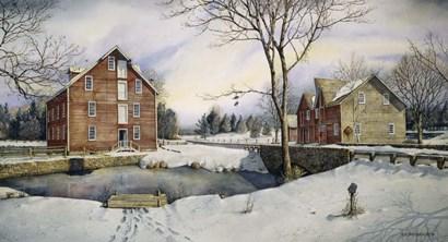 Kirby's Mill by Nicholas Santoleri art print