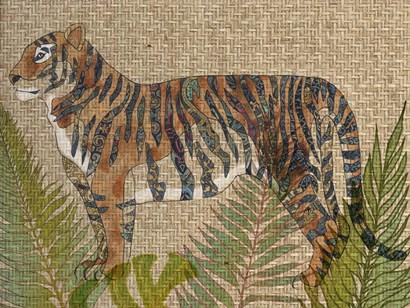 Rattan Jungle II by Chariklia Zarris art print