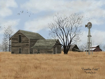 Forgotten Fields by Billy Jacobs art print