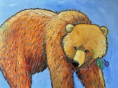 Bear by Karrie Evenson art print