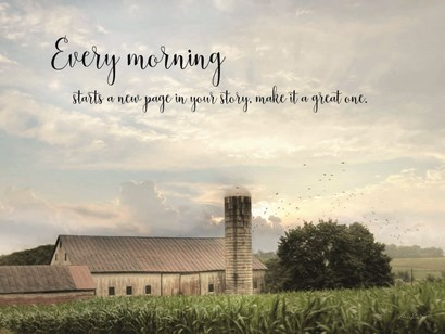 Every Morning by Lori Deiter art print