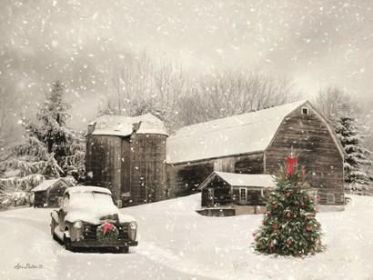 Farmhouse Christmas by Lori Deiter art print