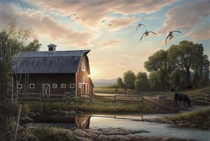 Returning Home by Chuck Black art print