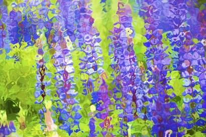 Fluid Flowers VIII by Cora Niele art print