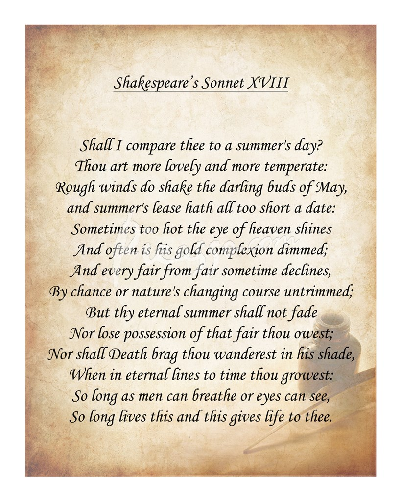 sonnets essays What is a sonnet poem explanation of a sonnet poem and how it is written.