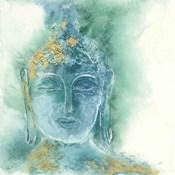 Gilded Buddha I
