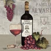 Uncork Wine and Grapes I
