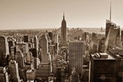 New York Sepia View